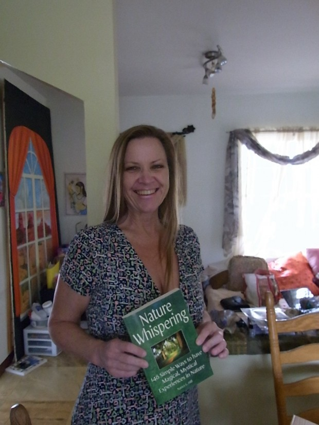Nancy L. Hill, author of Nature Whispering