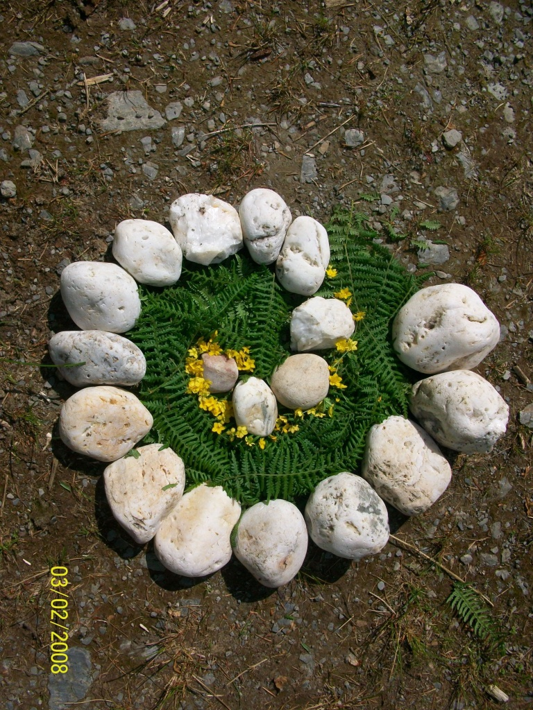 nature land outdoor simple projects crafts idea activities landart natural whispering craft project activity ways kunst het create